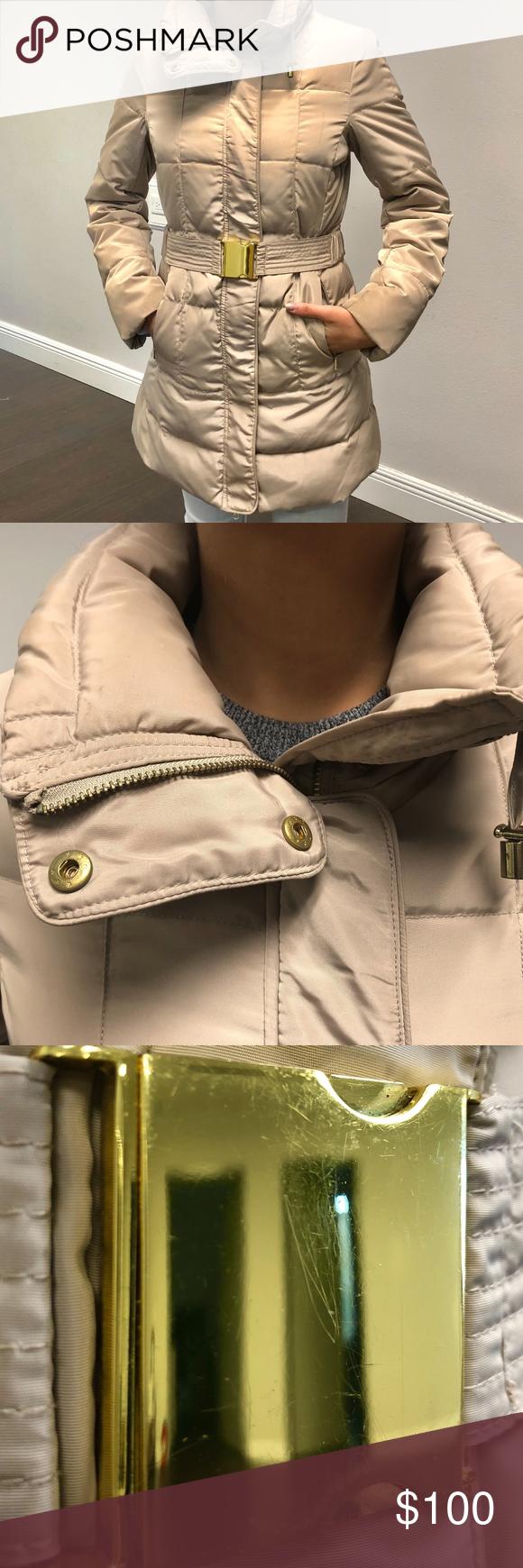 Zara Basic Tan Puffer Jacket Zara Basic Clothes Design Fashion [ 1740 x 580 Pixel ]