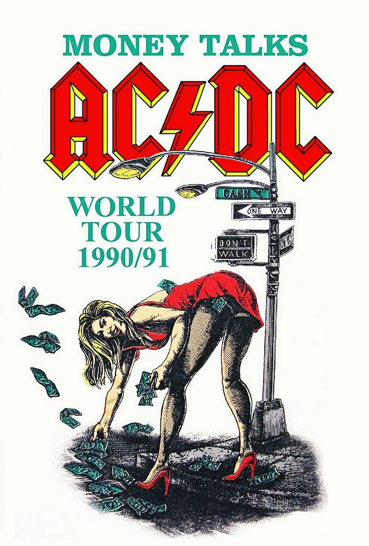 ACDC - Money Talks World Tour (1990-91).
