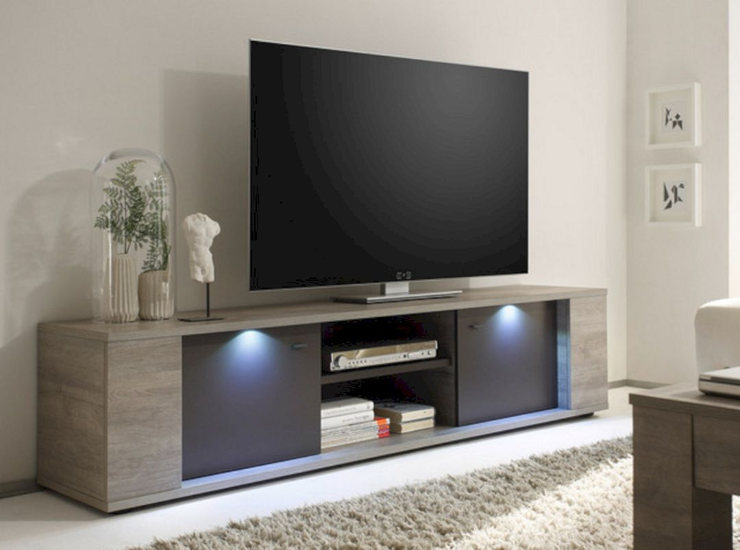 23 Modern Living Room With Television For Beauty Your Home Design Large Tv Stands Modern Tv Stand Tv Stand Designs