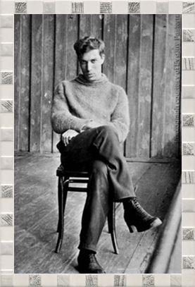 Young Boris Pasternak in the Urals