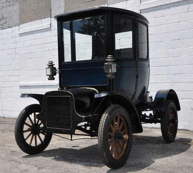 The 1905 Cadillac Osceola Was The First Closed-body Car