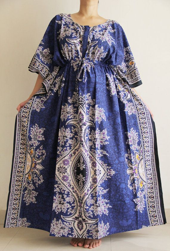 PLUS Size Nursing gown hospital gown indian by ADifferentWeave ...