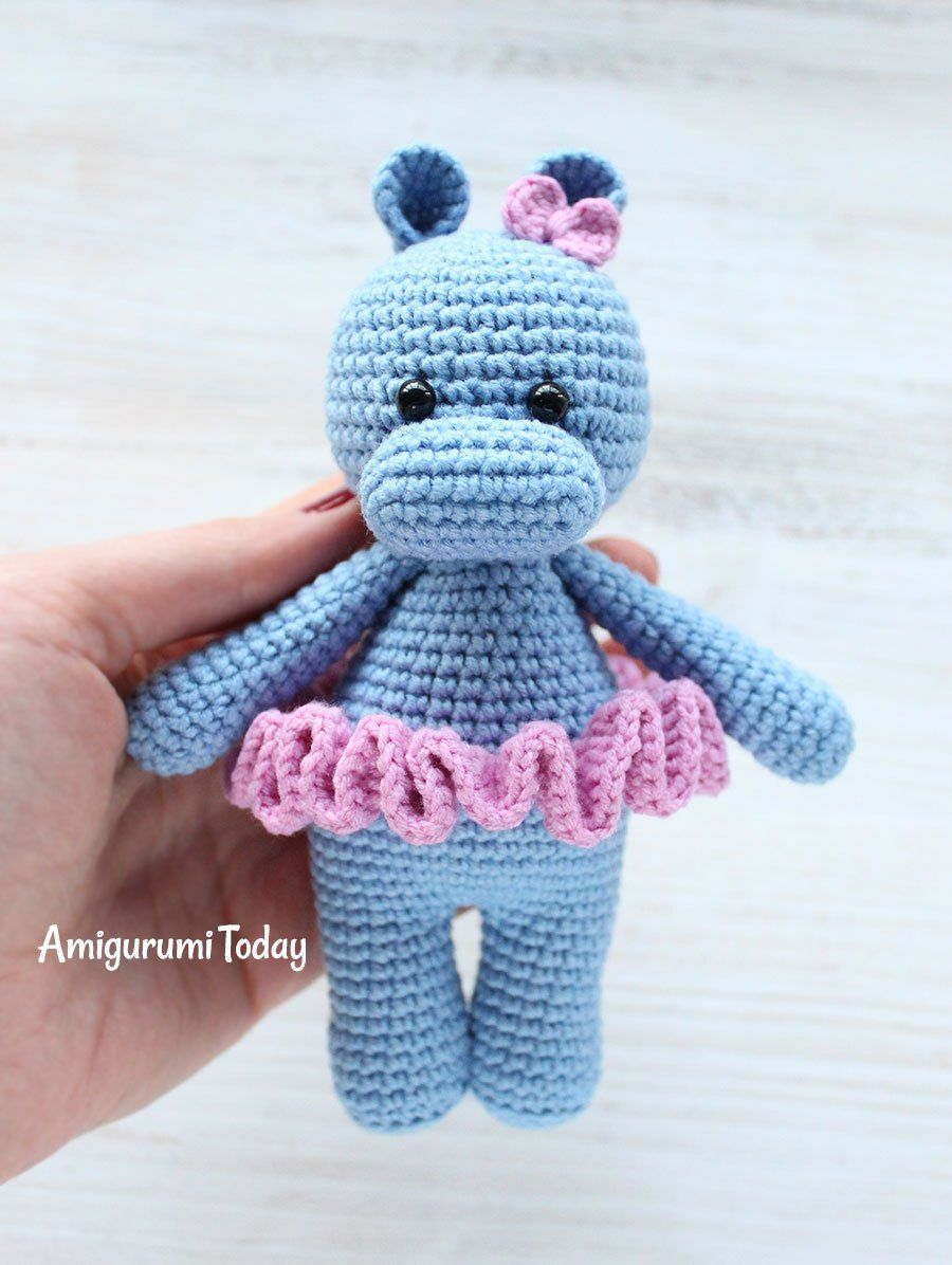 Cuddle Me Hippo crochet pattern | Crochet | Pinterest | Kuscheln ...