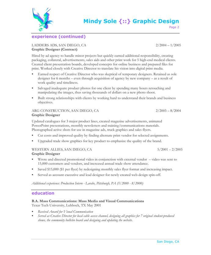 Promotional Resume Sample Resume Format Graphic Designer  Resume Format  Pinterest  Resume .