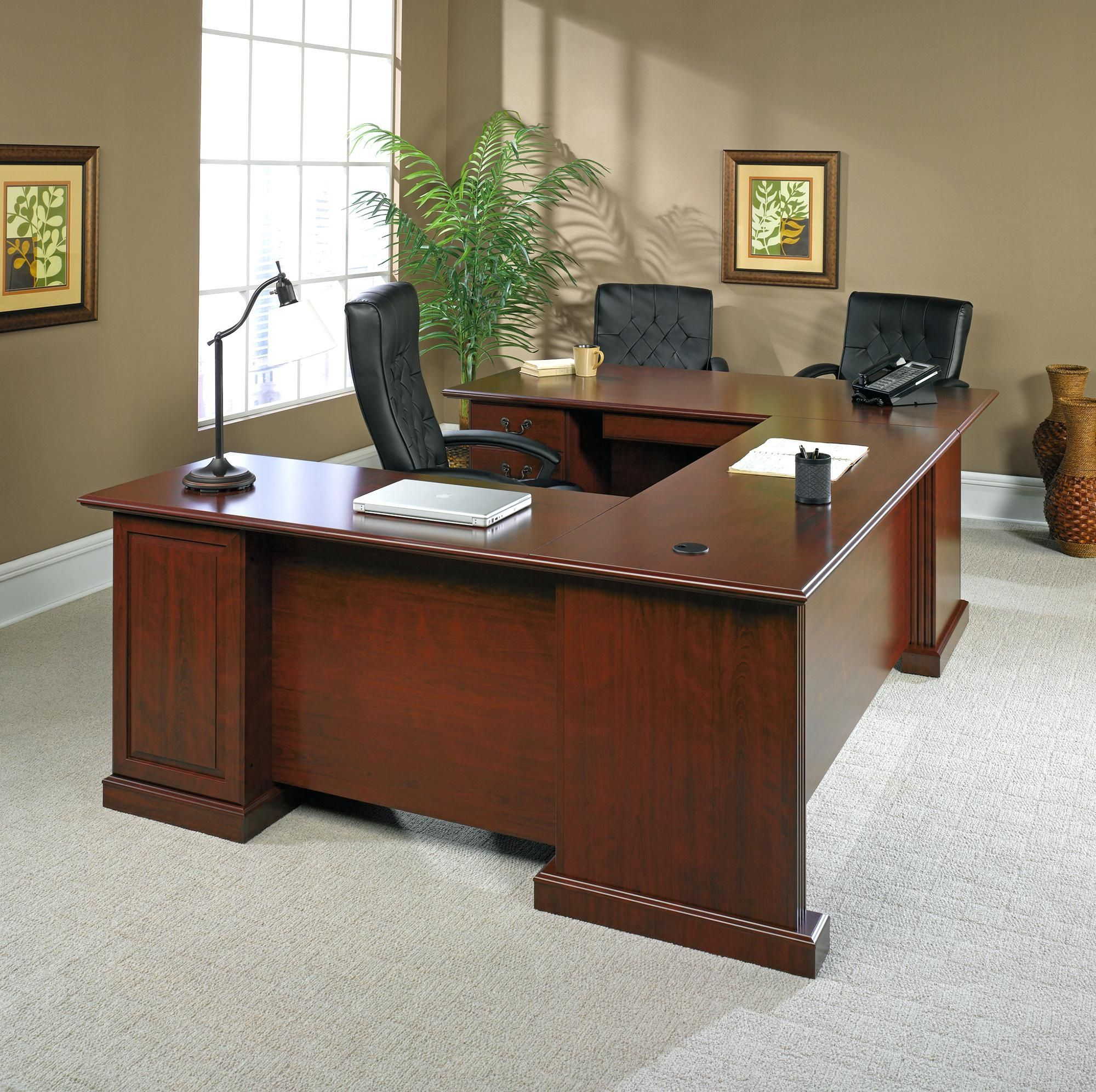 Executive Desks Office Depot Professionalofficedesigns With
