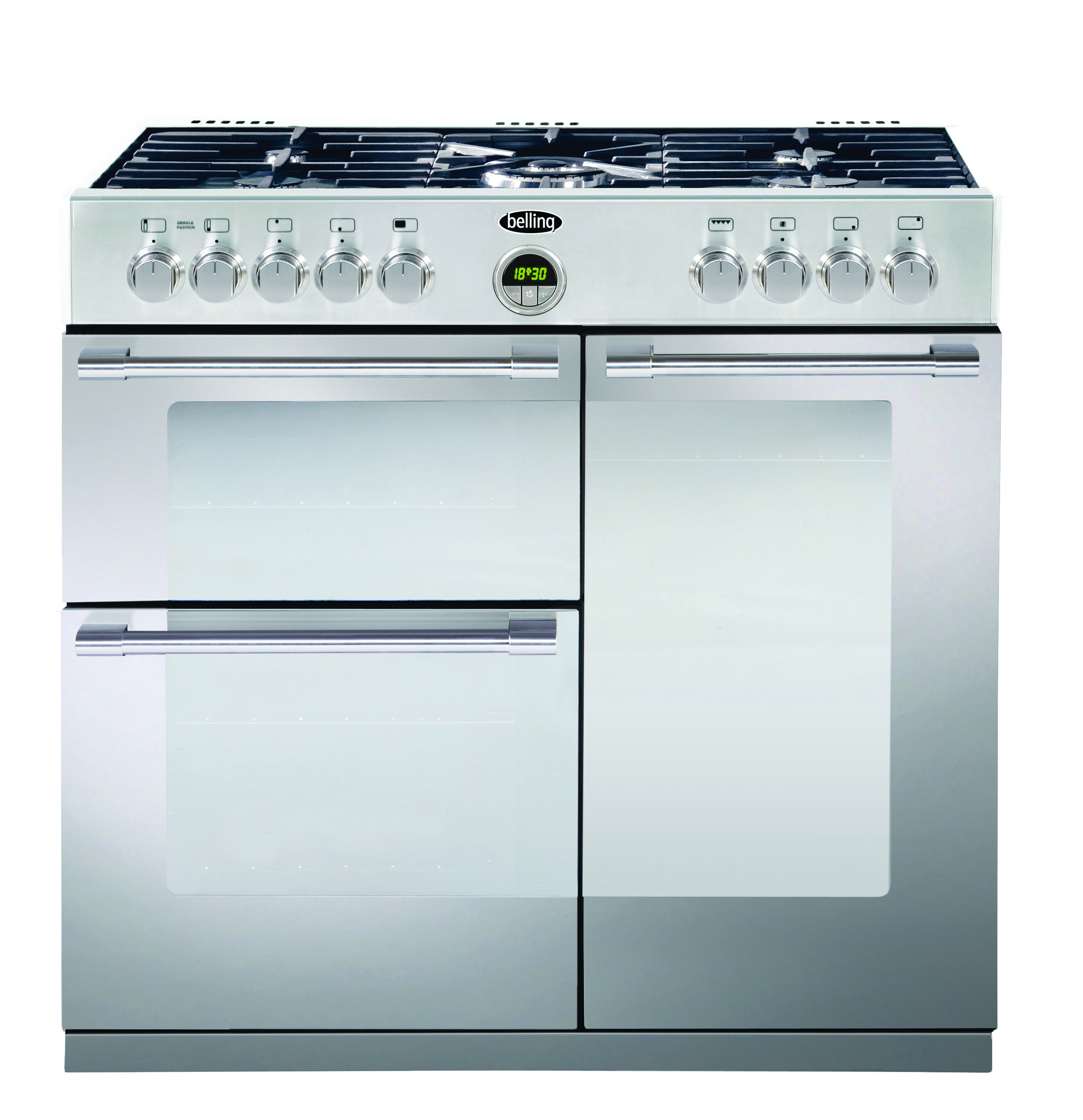 the 90cm dual fuel range cooker has the best of both worlds a mul