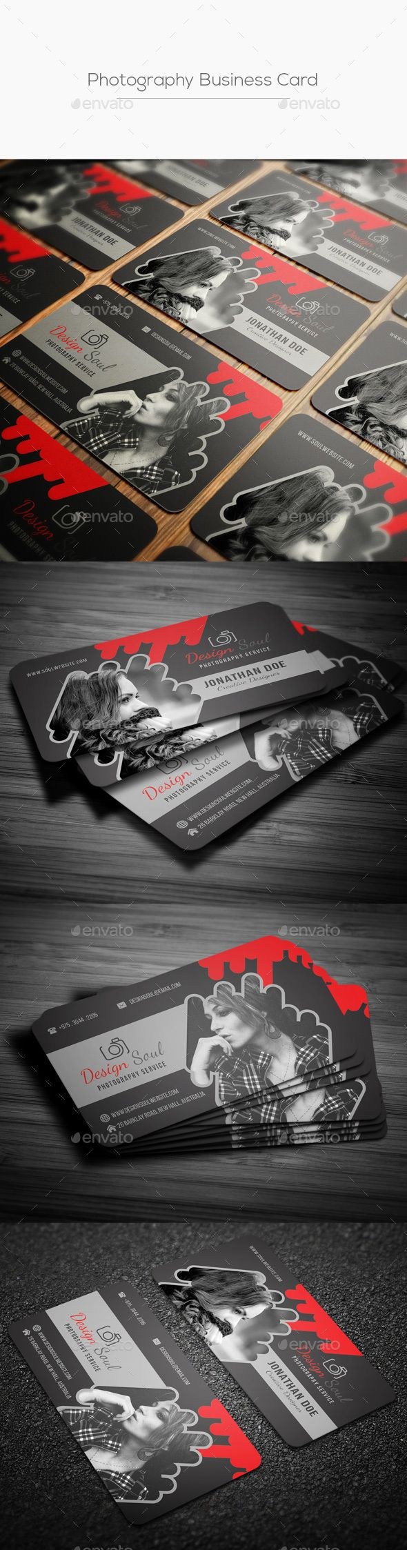 Photography business card pinterest photography business cards photography business card photoshop psd shot round available here httpsgraphicriveritemphotography business card20429735refpxcr reheart Choice Image