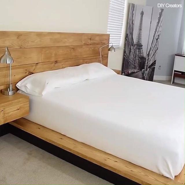 Best Diy Modern Plywood Platform Bed With Images Diy 400 x 300