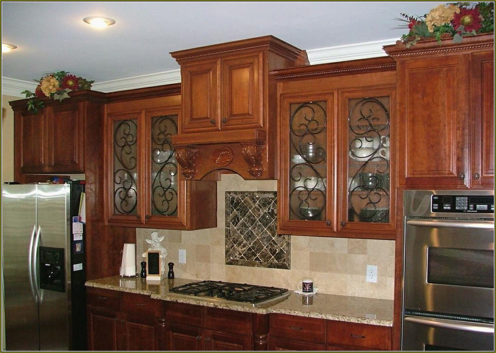 inspirational kitchen cabinet door glass inserts glass cabinet doors kitchen cabinet doors on kitchen cabinets glass inserts id=57527