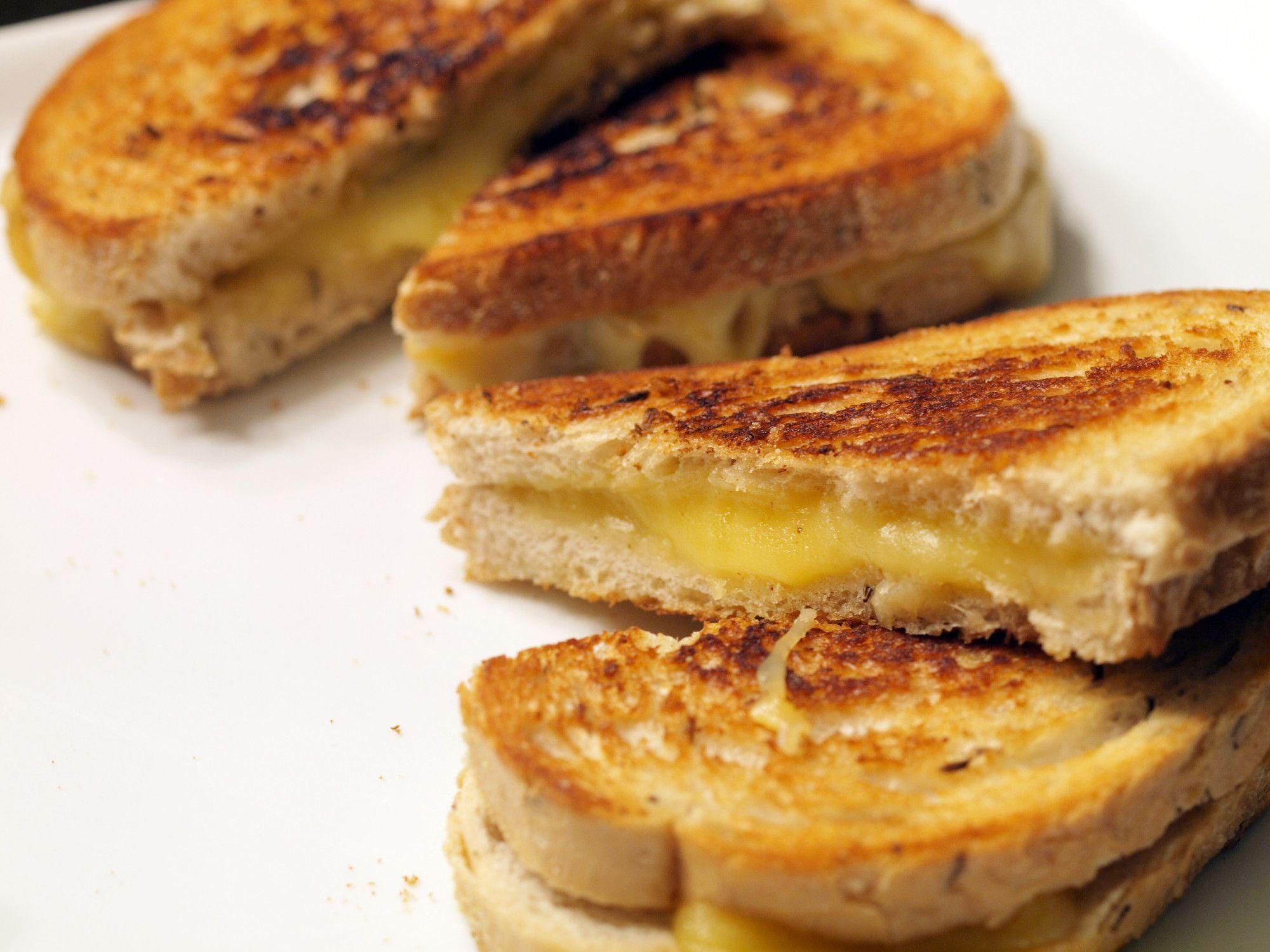 Como faz: o melhor queijo quente do mundo!