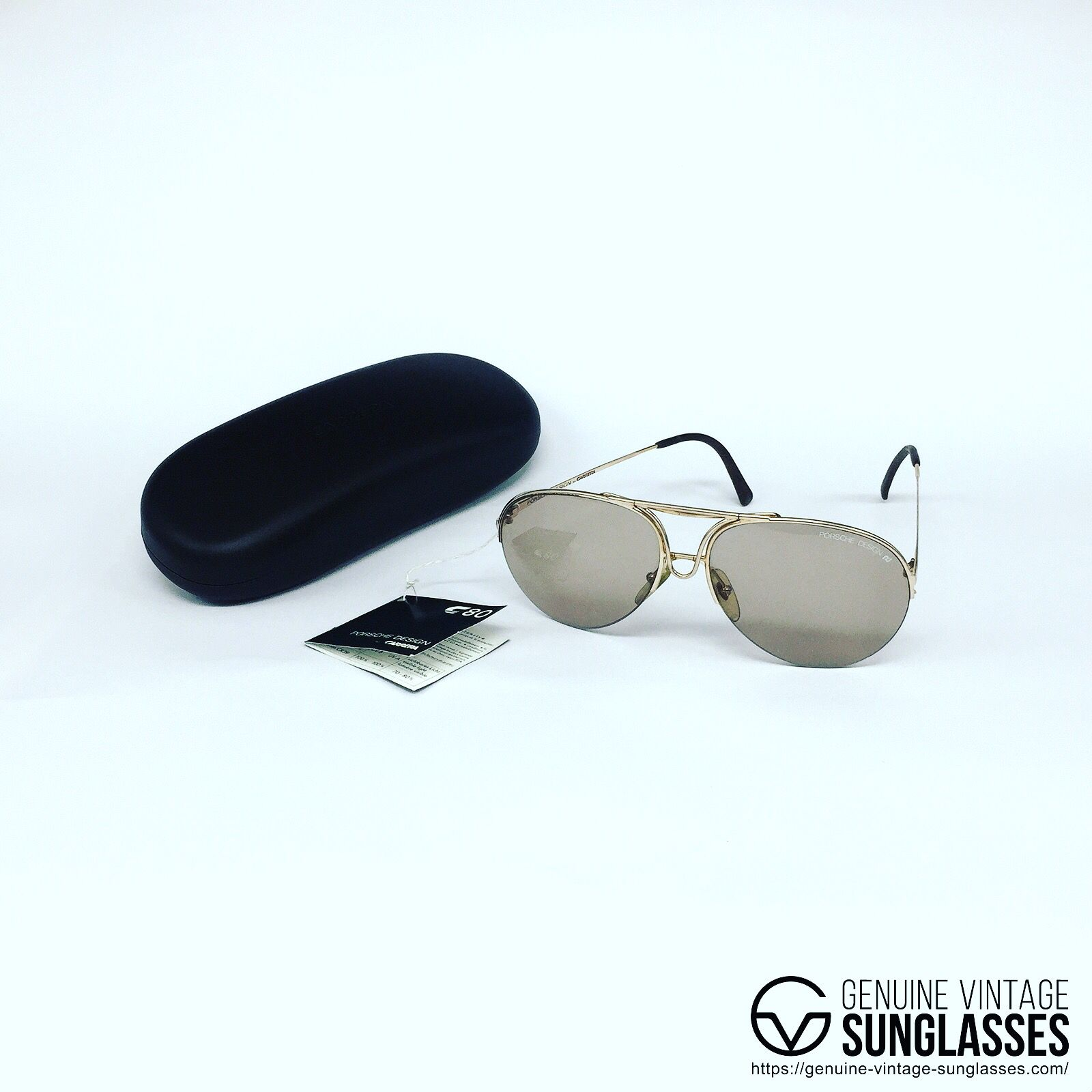 NOS Porsche Design by Carrera genuinevintagesunglasses