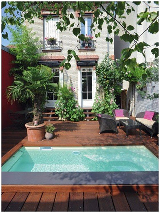 50 modelos piscina pequena para inspirar sua reforma ou for Pequenas piletas