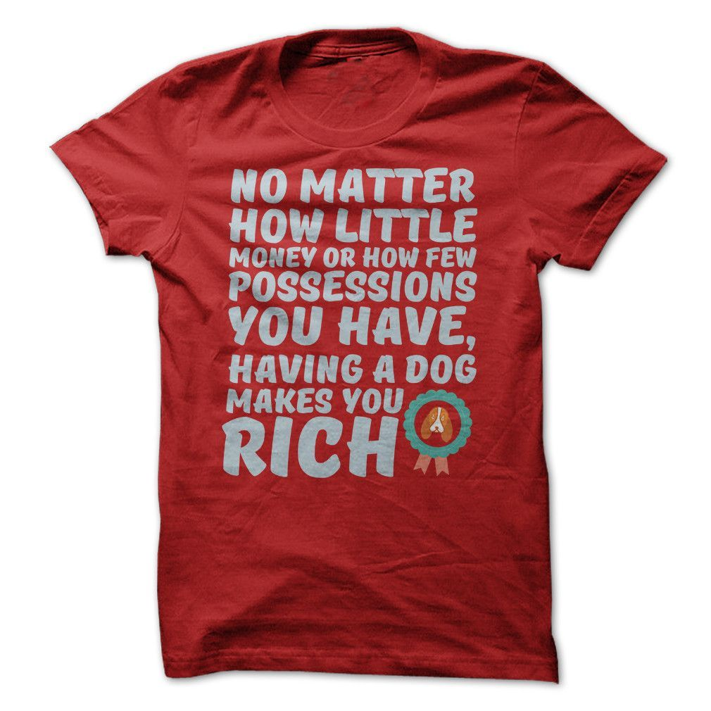 Makes You Rich T-Shirt (Ladies)