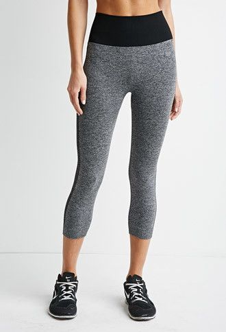 c280818bcc Striped Seamless Capri Leggings | Forever 21 - 2000174657 SIZE SMALL ...