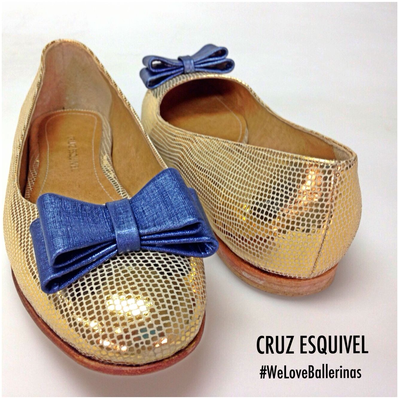 CRUZ ESQUIVEL leather handmade ballerinas Showroom Palermo