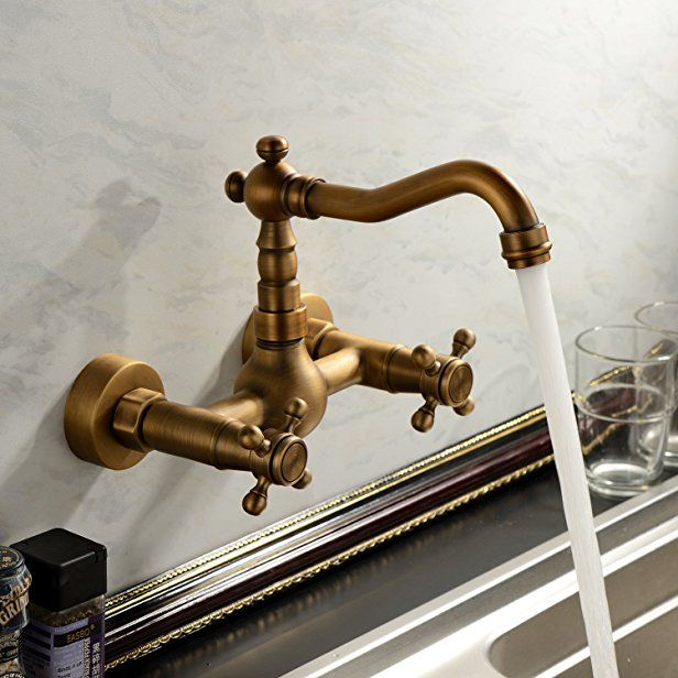 Best Sprinkle Kitchen Bathroom Faucet Wall Mount Solid Brass 640 x 480