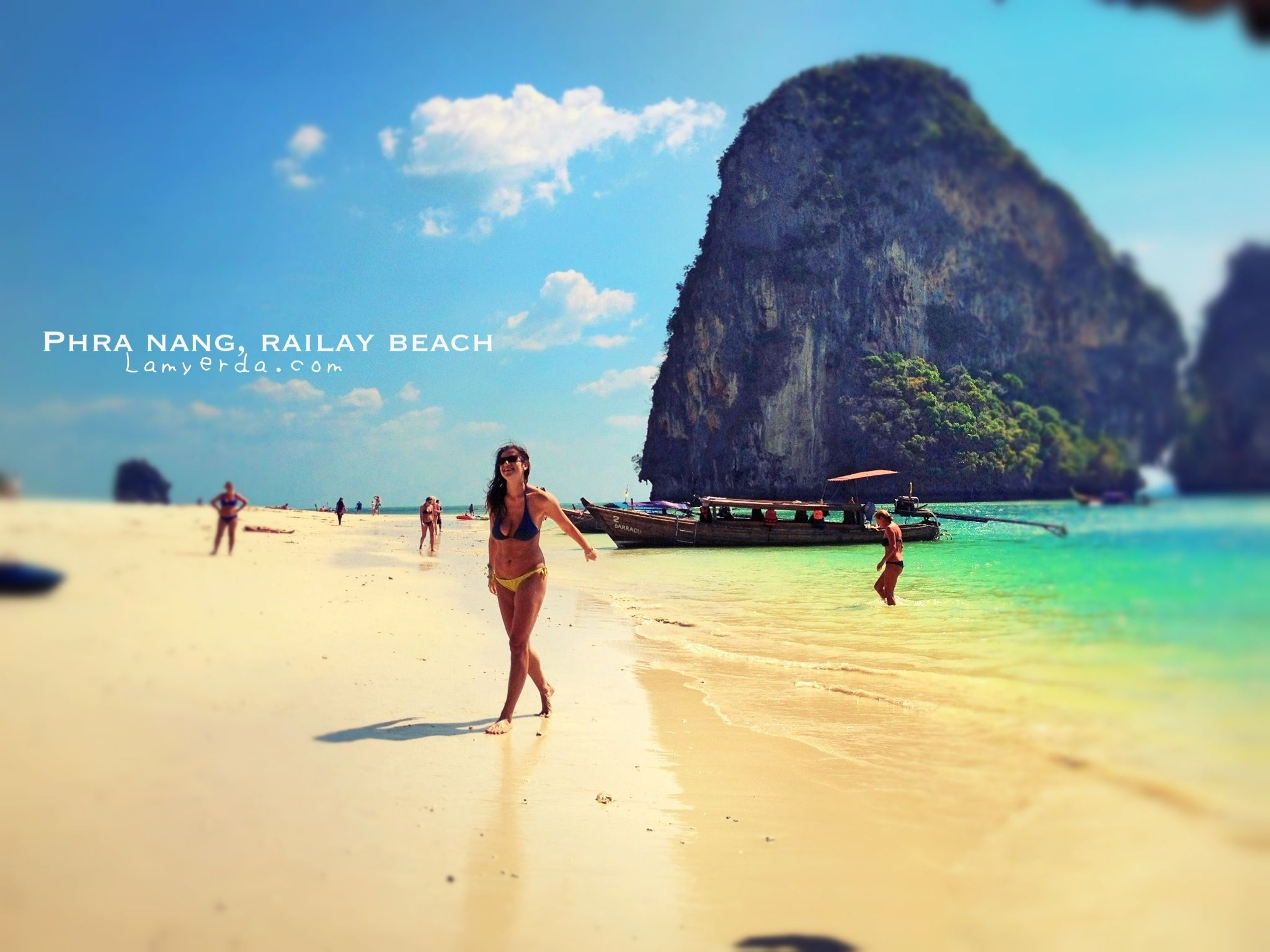 West Of Railay The Bizarre Cave And Phra Nang Beach Lamyerda