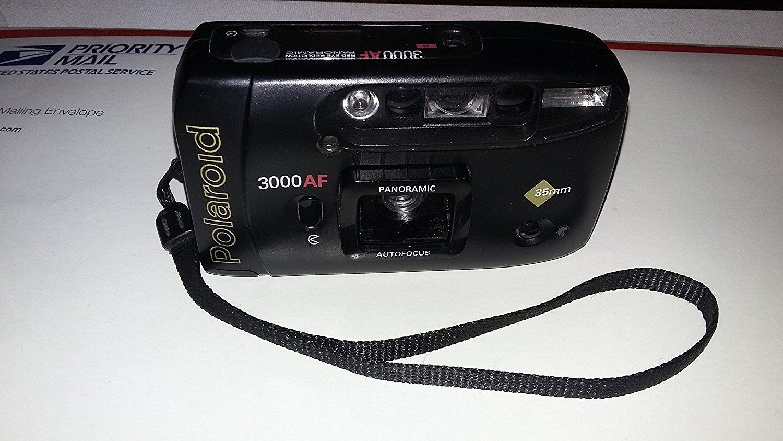 Polaroid 3000 AF 35mm Autofocus Date Camera Kit