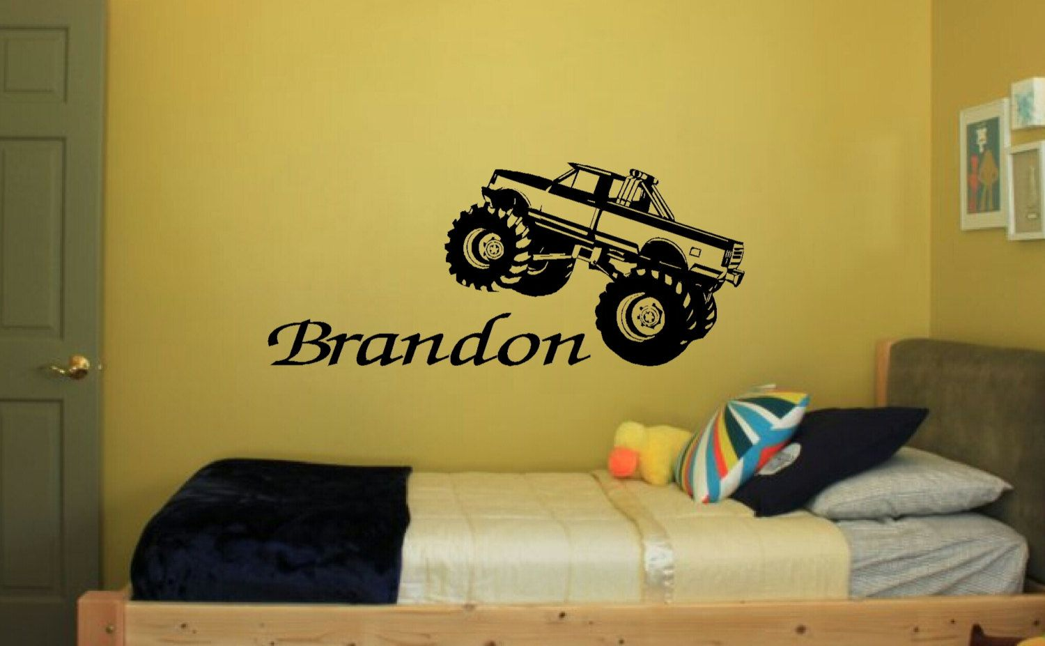 Monster Truck Personalized Name Boys by HeritageSignandPrint, $12.95 ...