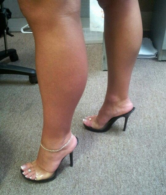 Sexy Mules Anklet And Legs I Like Shoes Heels Sexy