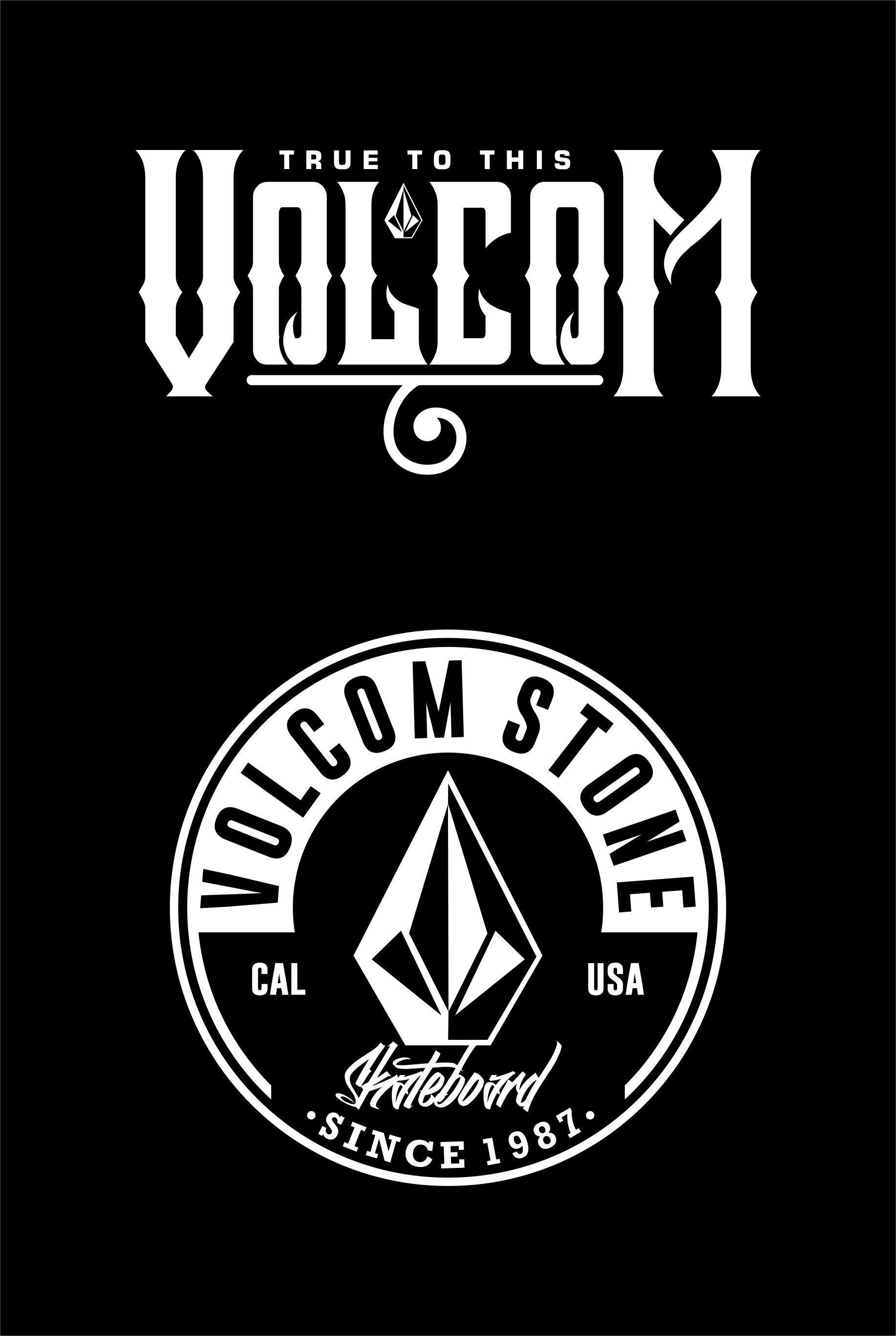 Volcom Logo Wallpapers Surf Logo Tshirt Printing Design Volcom