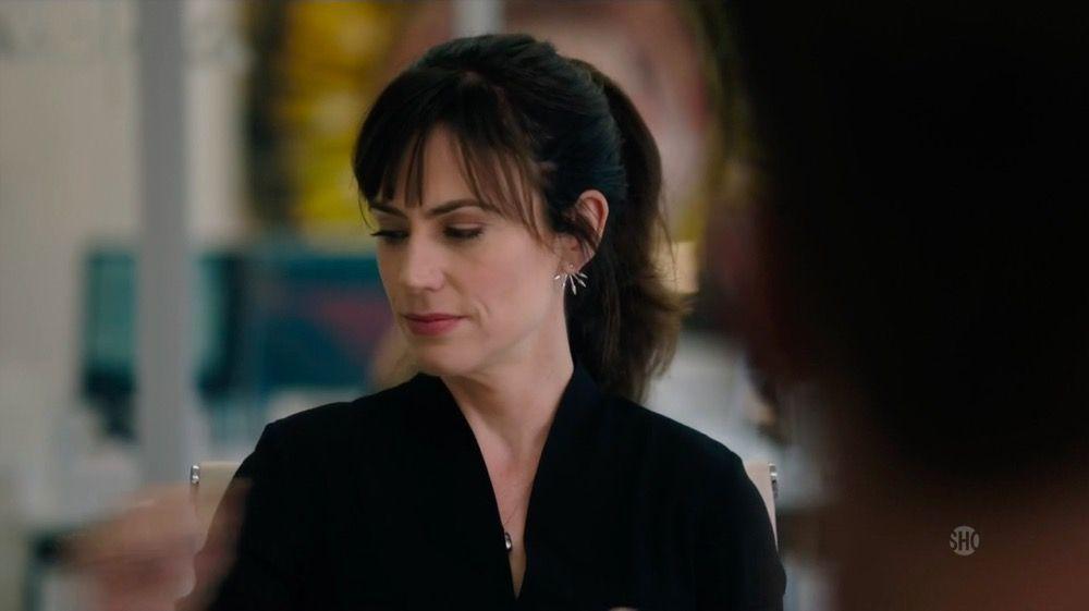 Pamela Love Five Spike Earrings As Seen On Wendy Rhoades In Billions Season 2 Episode 6 Thetake