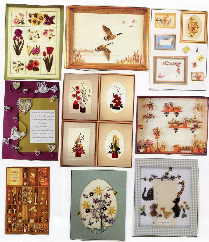 Lake City Assorted Theme Quilling Kits Complete Paper-Patterns-Instructions