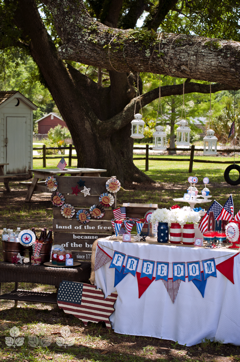 4th of July 4th of July Party Ideas | Decoration, Military ...