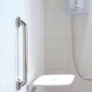 Fresh Acrylic Shower Grab Bar