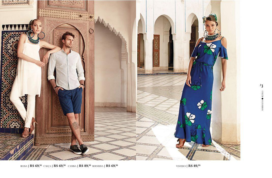 Marrocos | Riachuelo - O Abraço da Moda