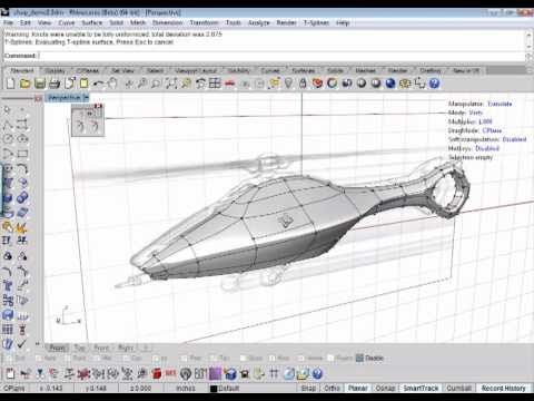 3d model from 2d sketch with t splines for rhino leather for T spline architecture