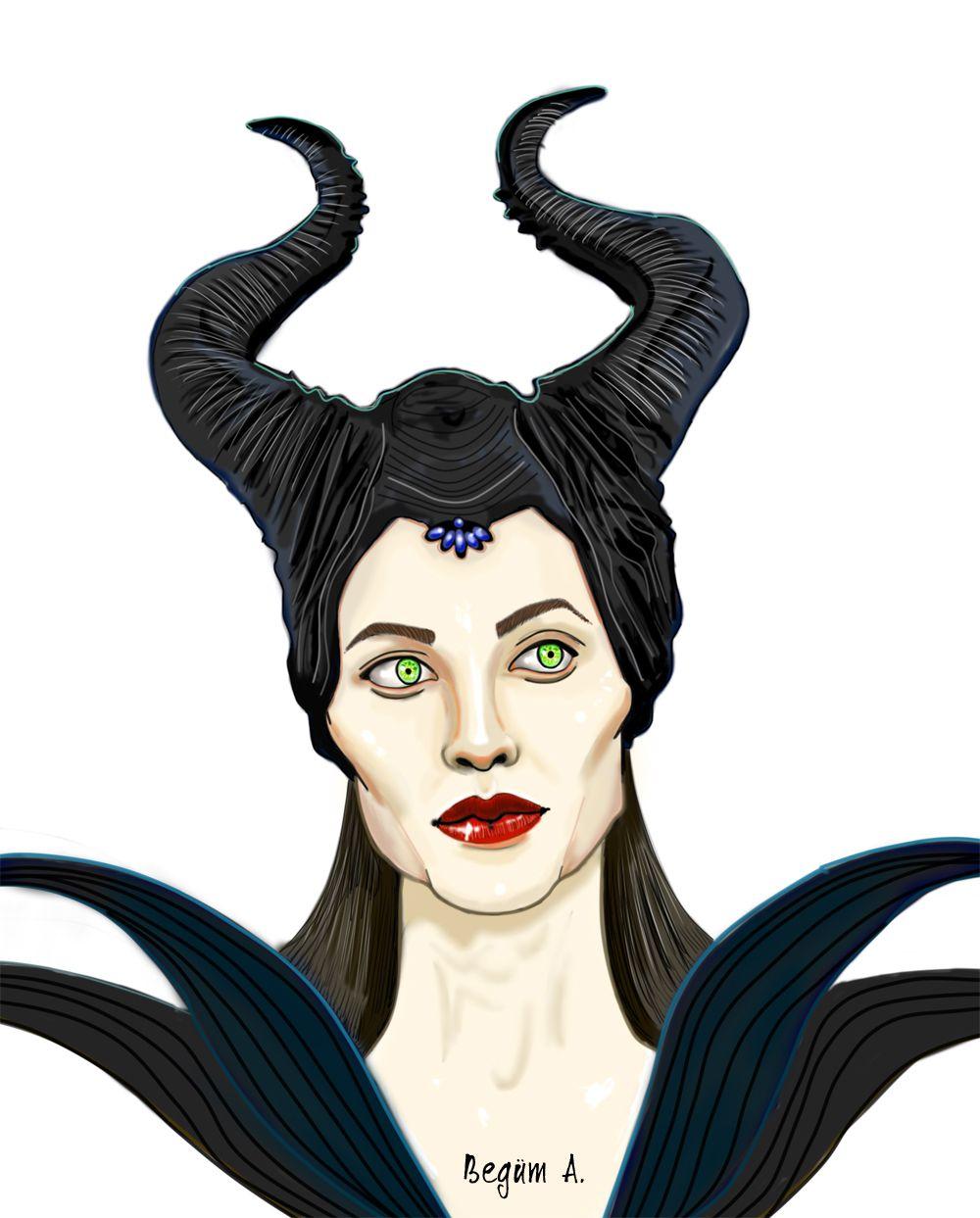 Maleficent by begumaa.deviantart.com on @deviantART