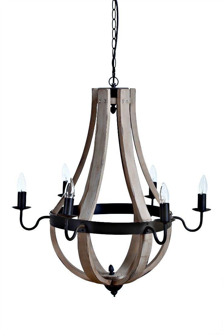 Fabulous Chandelier - Farmhouse style -Haven 6 light