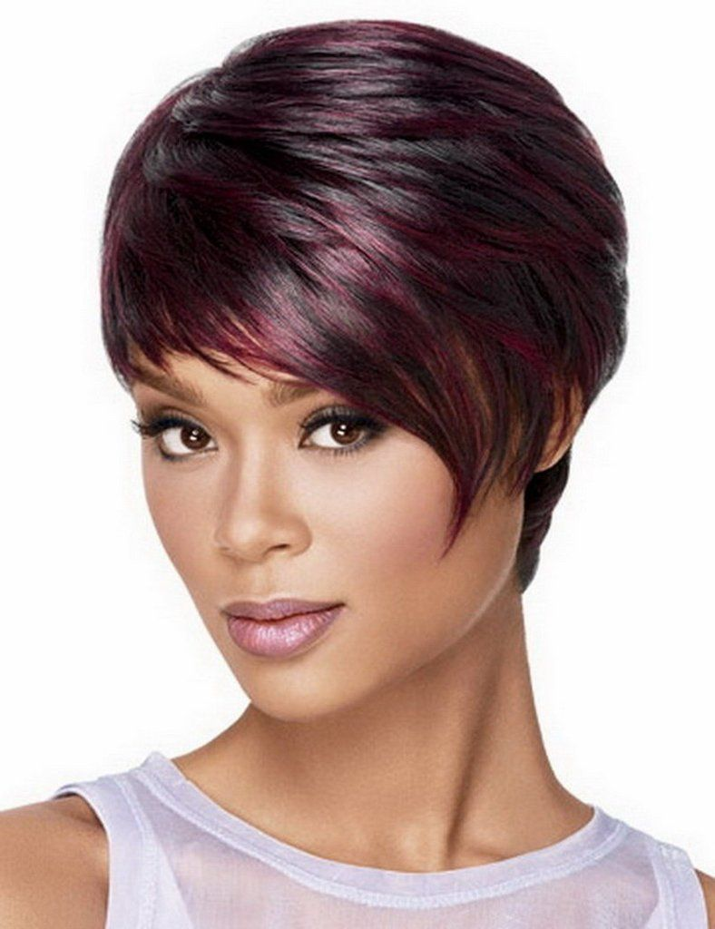 Black red short wig hairstyles pinterest red shorts wig and