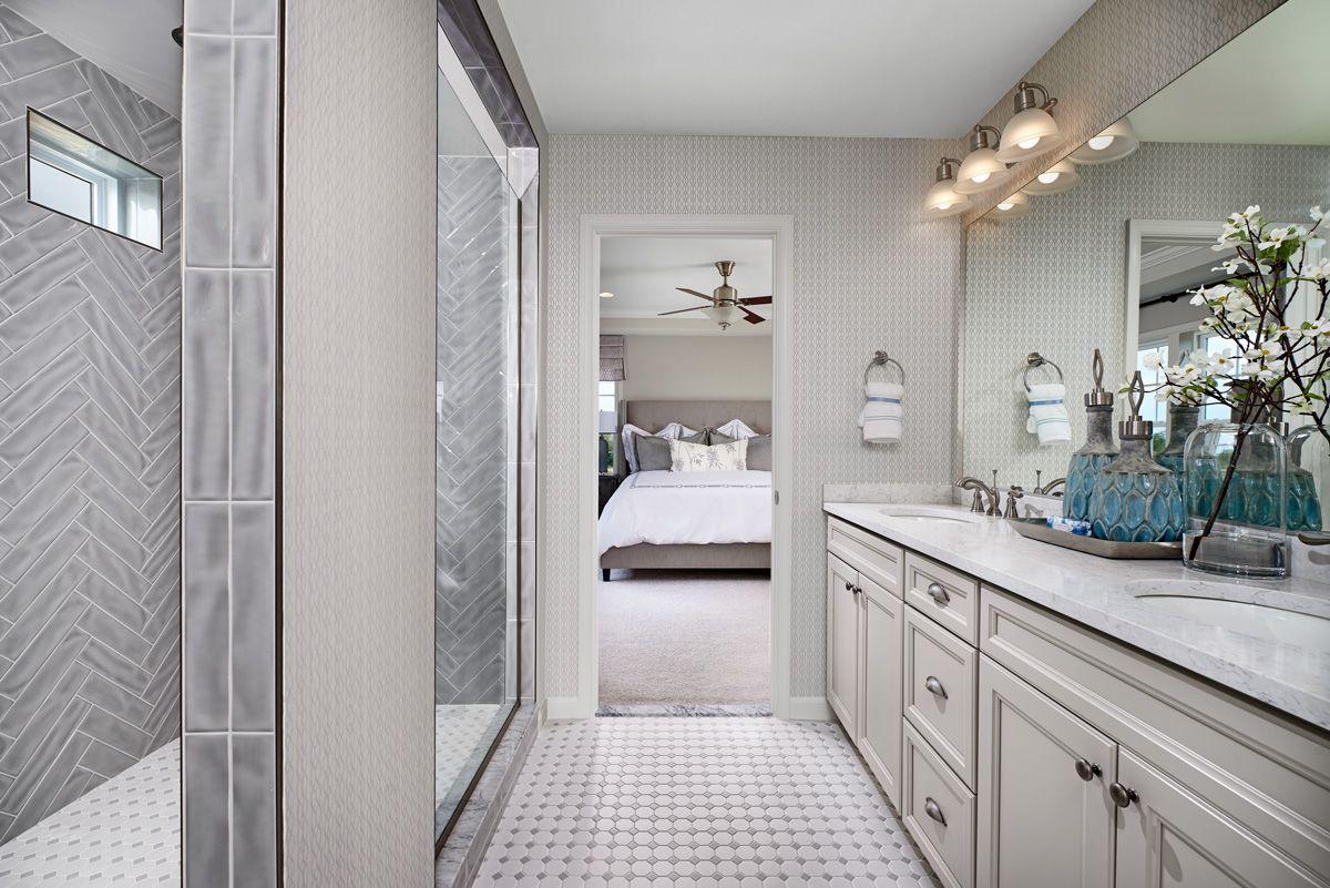 Stunning Tile Hemingway Model Home Master Bath Hagerstown