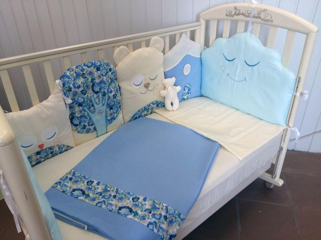 Комплект детского постельного белья в кроватку сшить 545