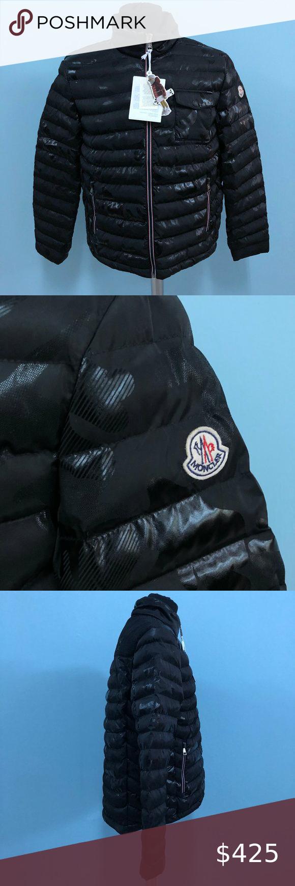 Moncler Men Black Camouflage Puffer Jacket Nwt100 Moncler Men Black Camouflage Puffer Jacket Nwt100 Size 4 Black Puffer Jacket Black Puffer Puffer Jackets [ 1740 x 580 Pixel ]
