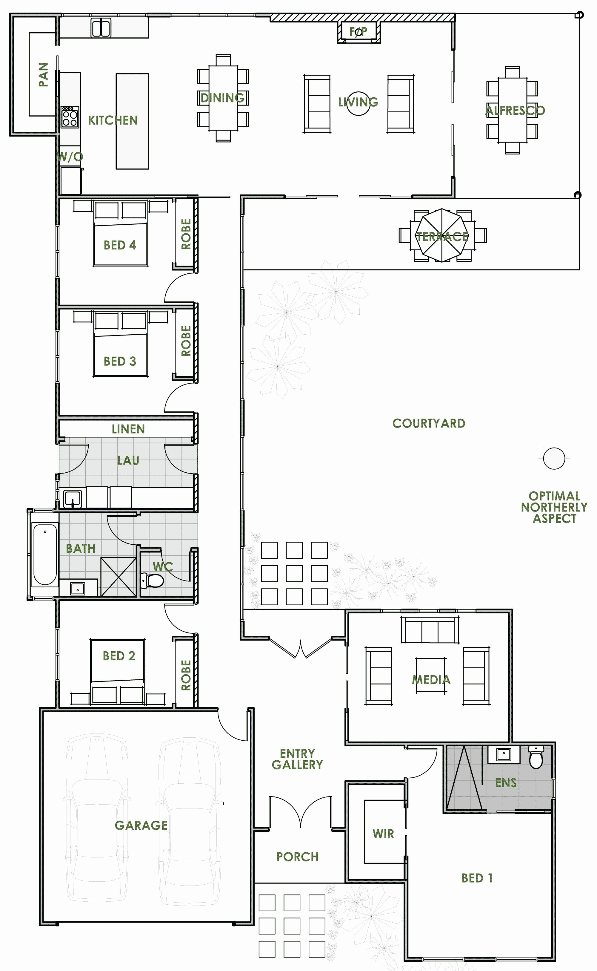 25 Clever Free Home Plans In 2020 U Shaped House Plans Open Floor House Plans House Plans Australia
