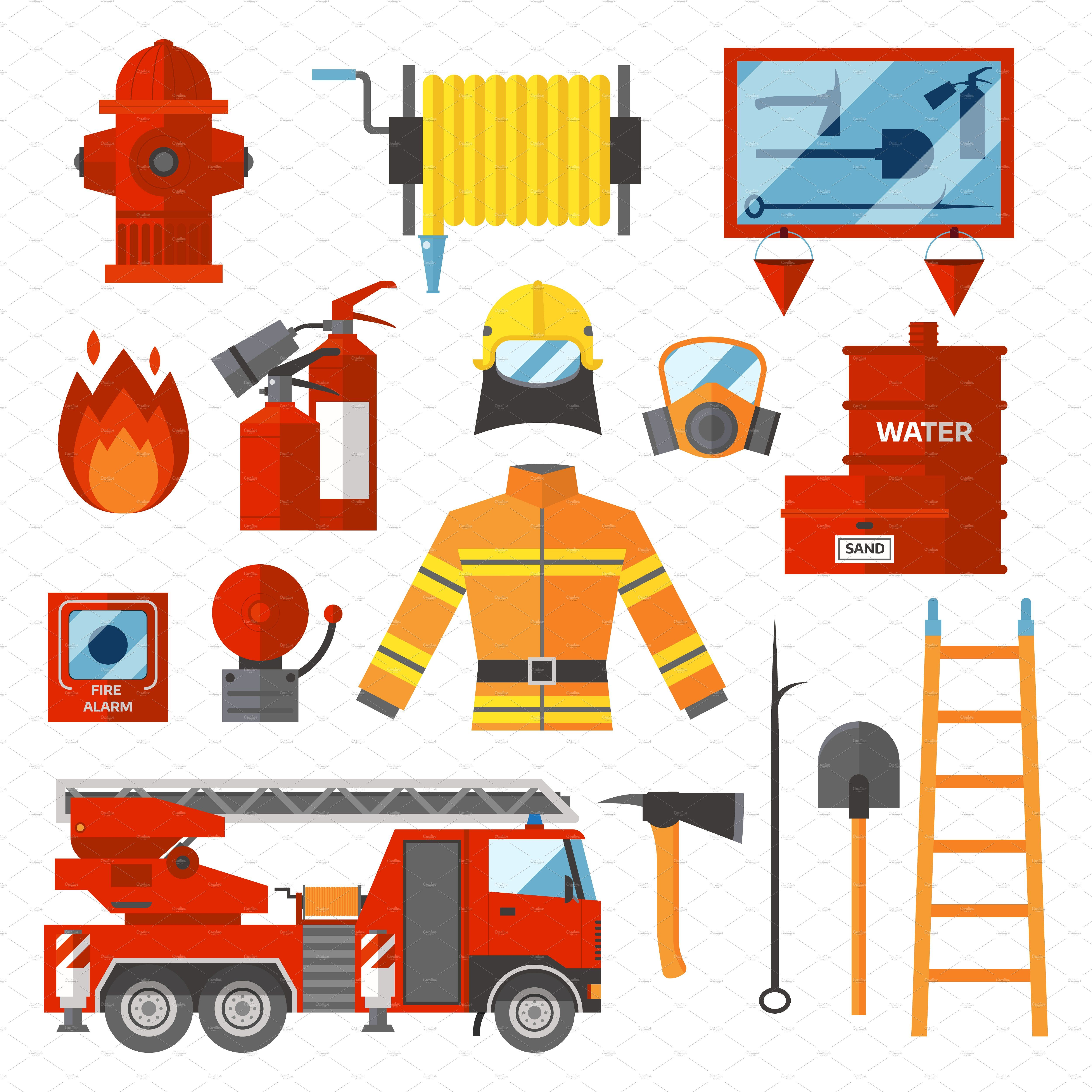 Fire safety equipment Fire safety theme, Fire safety