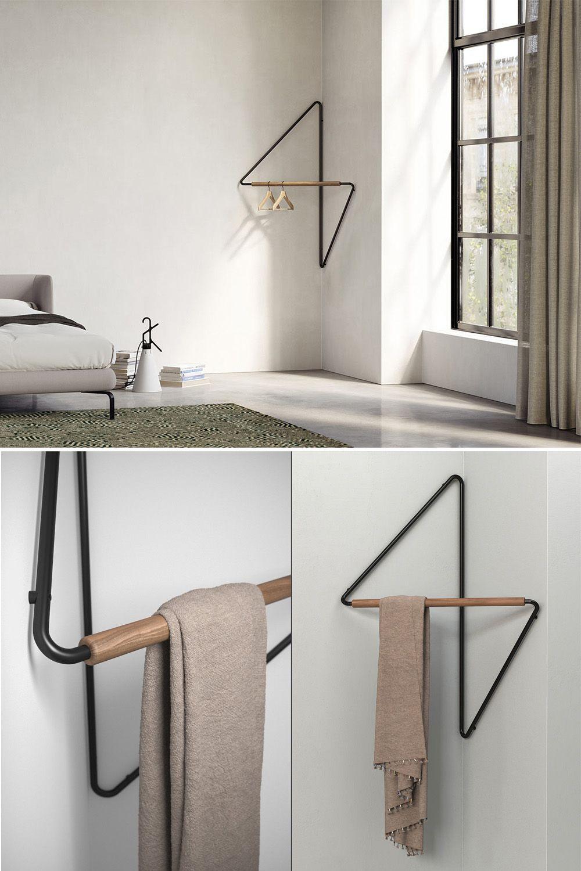 WOW 😲 Маленькая настенная угловая вешалка для одежды