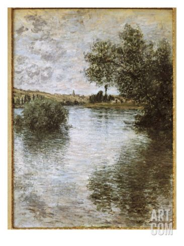 Vétheuil Art Print by Claude Monet at Art.com