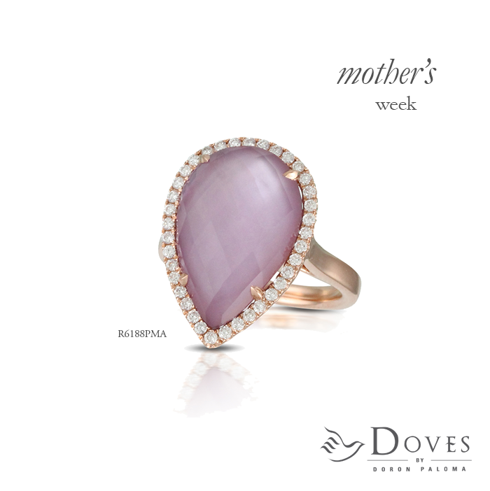 We're kicking off #MothersWeek! Great gift ideas every day with mom in mind for her special day. Today, a ring featuring the #ColoroftheYear. #MothersDayGifts