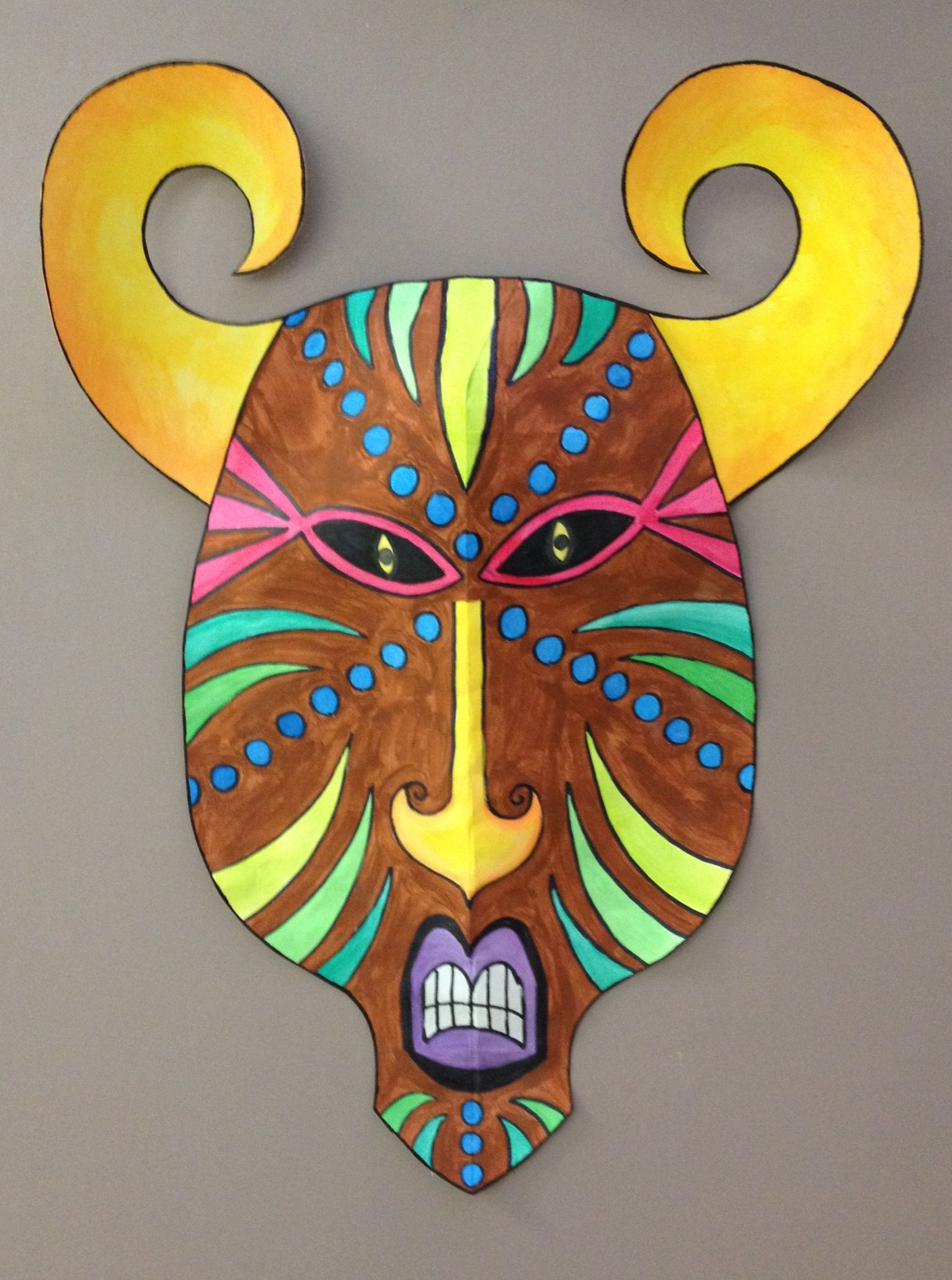 Elementary Art Mask Projects