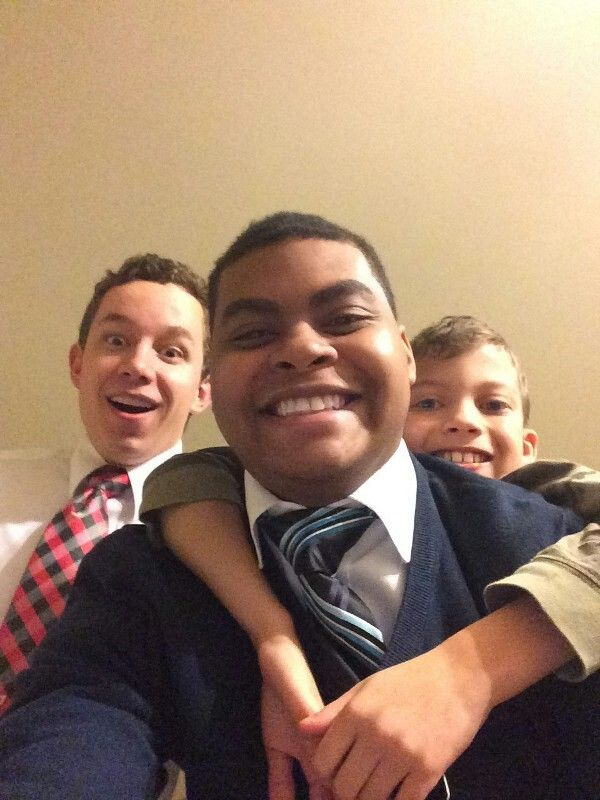 My missionary son.