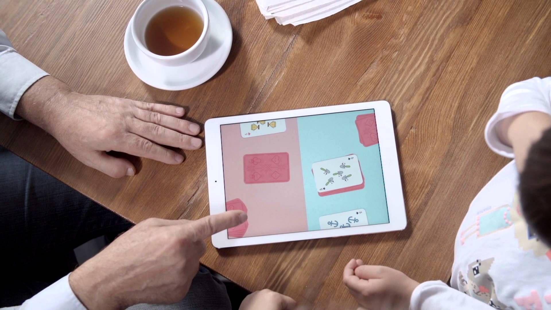 Duckie deck card wars video trailer game preschoolers