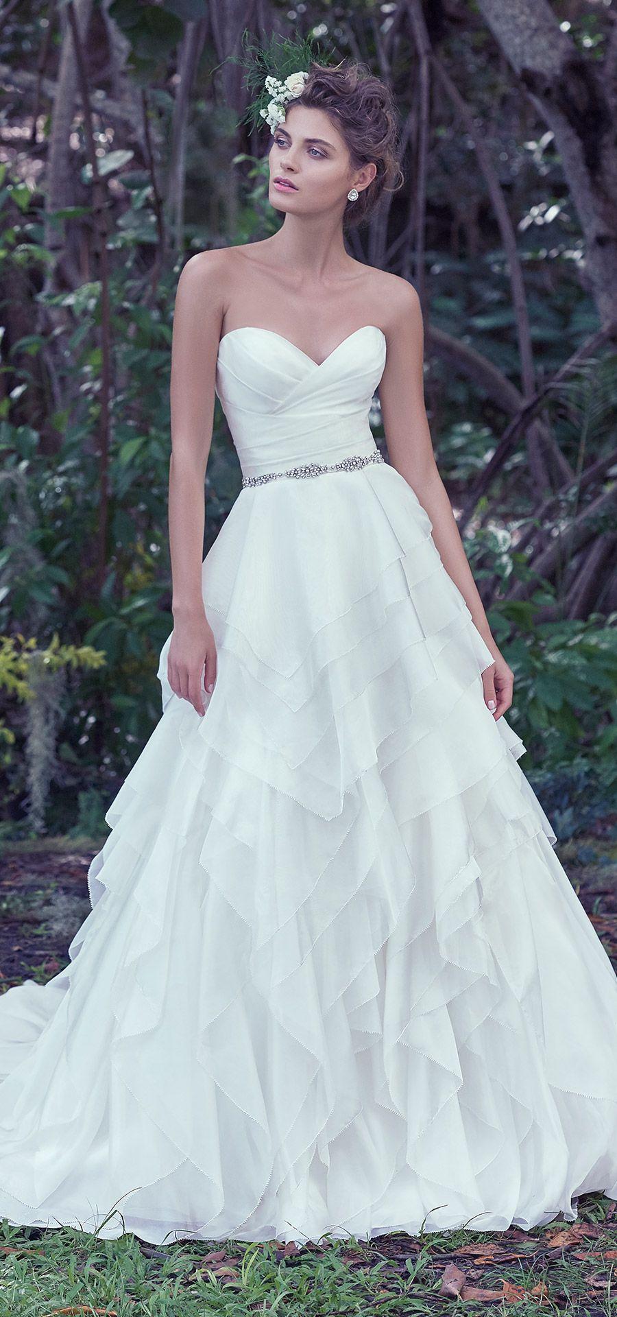 Maggie Sottero Wedding Dresses | Bodice, Wedding dress and Romantic