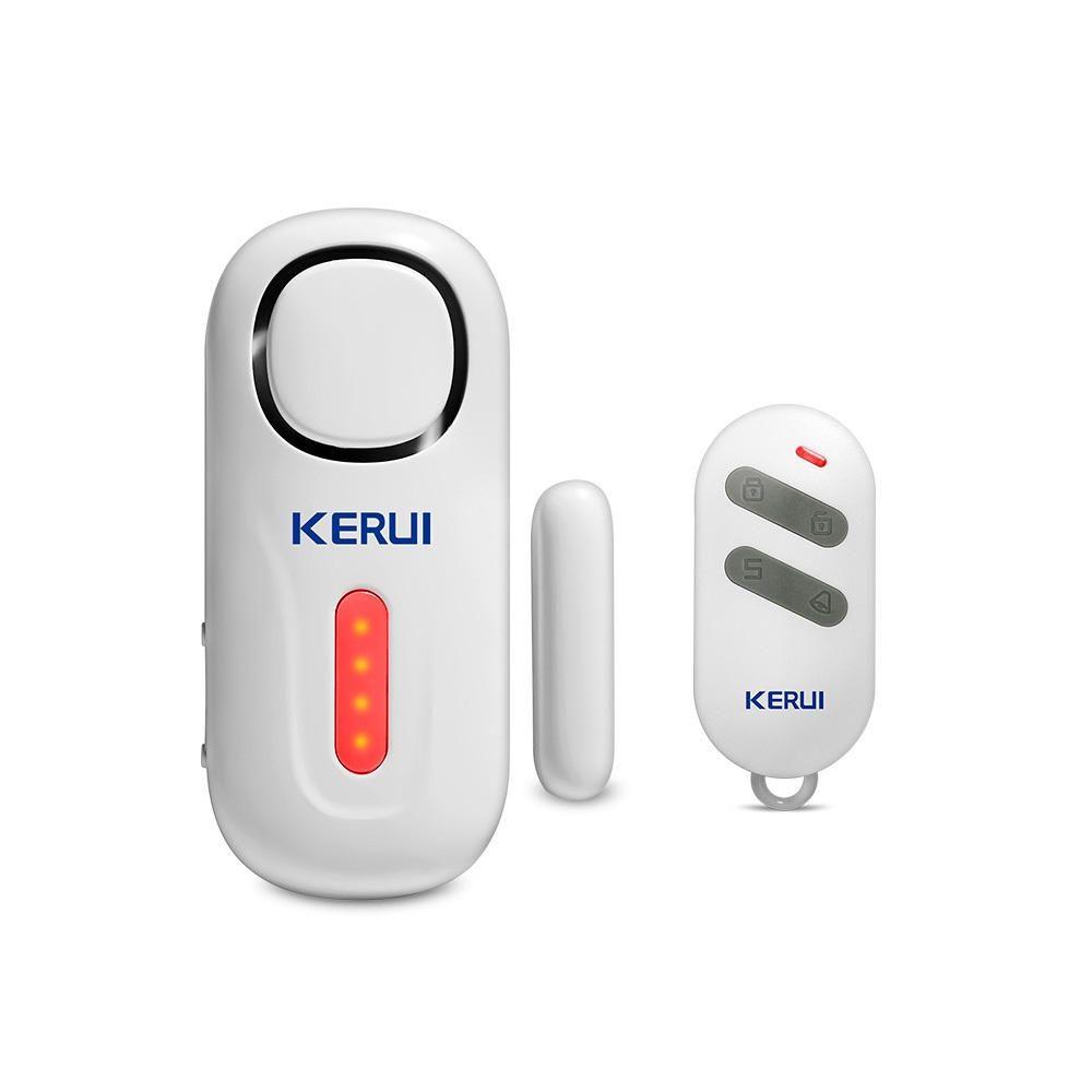 Kerui D2 Door Window Entry Security Burglar Sensor Pir Magnetic Wireless Alarm With Remote Control Kerui Window Pir Magnetic With Entry Wireless Control