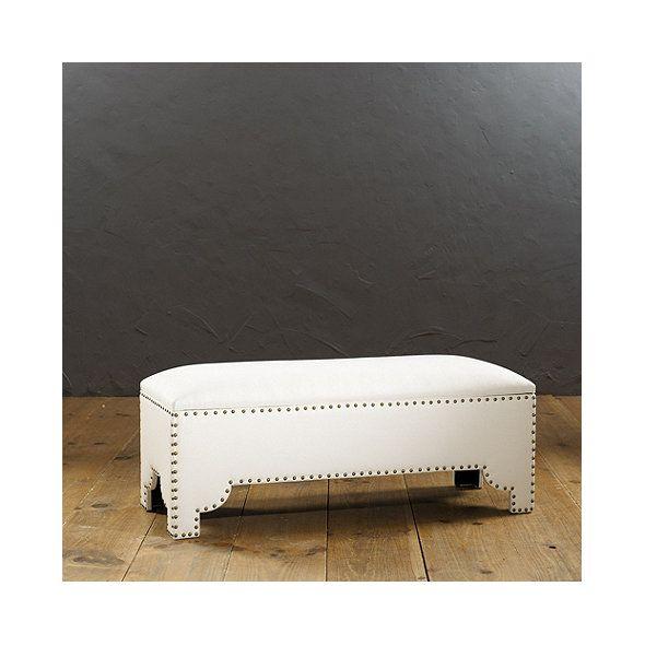 Jasmine Storage Bench   Furniture--stools, ottomans, benches   Pinterest