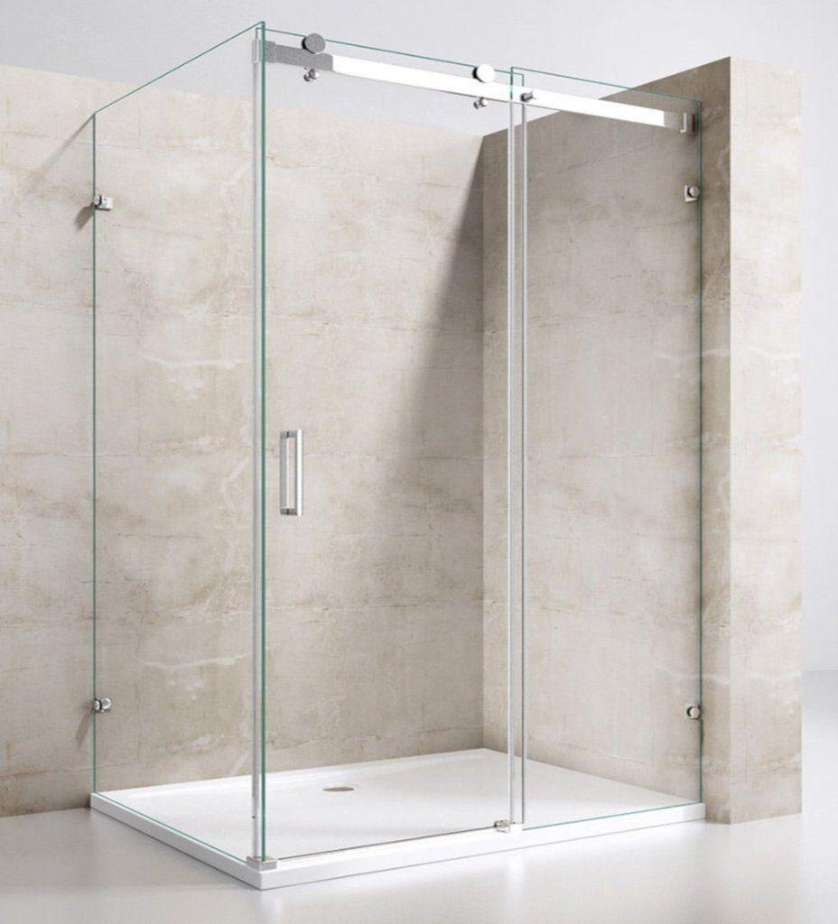 Lorenzo 1 Frameless Sliding Shower Sliding Shower Screens Glass Shower Glass Shower Doors Frameless