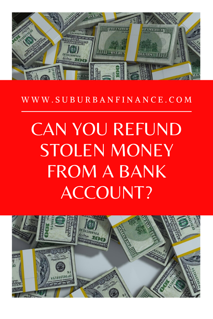 Being the victim of a #scam or #identitytheft is stressful and can sometimes cost you #money. Here's how you can get refund stolen money from your #bankaccount.